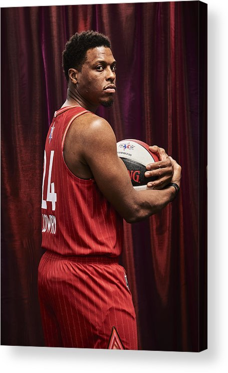Nba Pro Basketball Acrylic Print featuring the photograph Kyle Lowry by Jennifer Pottheiser