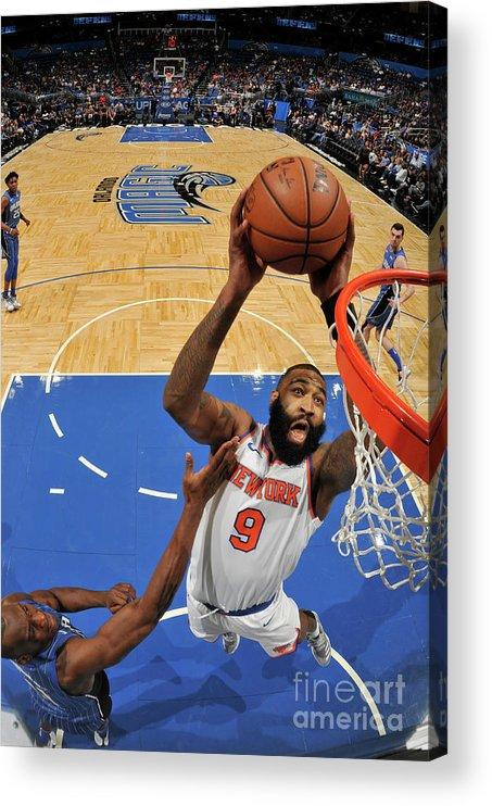 Nba Pro Basketball Acrylic Print featuring the photograph Kyle O'quinn by Fernando Medina