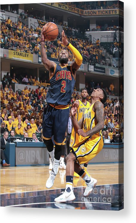 Playoffs Acrylic Print featuring the photograph Kyrie Irving by Ron Hoskins