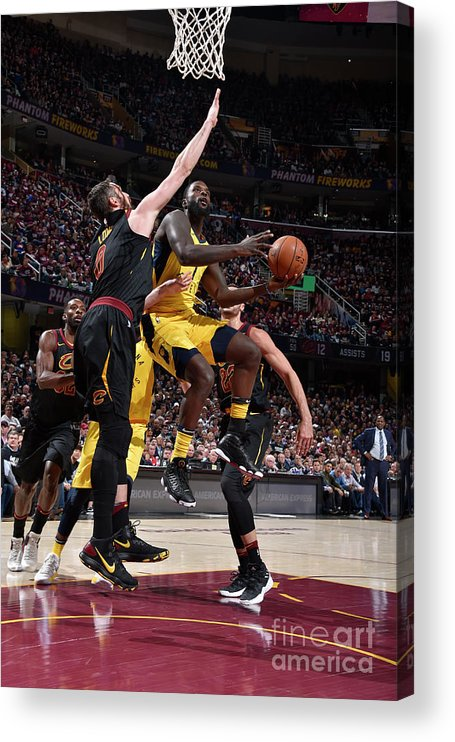 Playoffs Acrylic Print featuring the photograph Lance Stephenson by David Liam Kyle