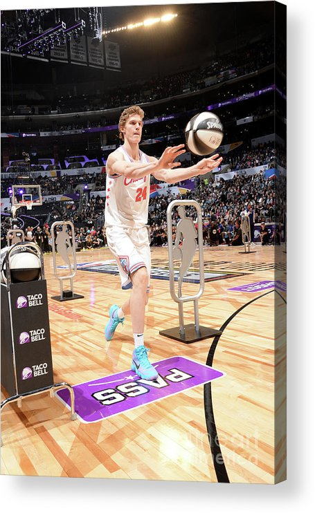 Event Acrylic Print featuring the photograph Lauri Markkanen by Andrew D. Bernstein