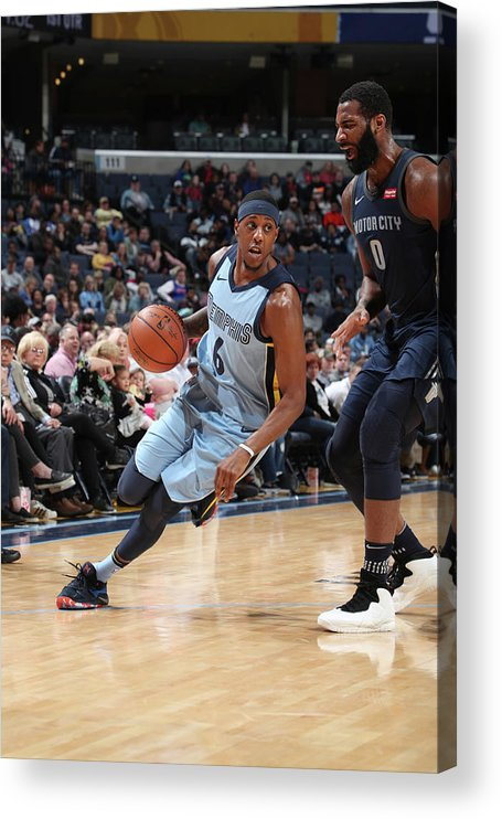 Sports Ball Acrylic Print featuring the photograph Mario Chalmers by Joe Murphy