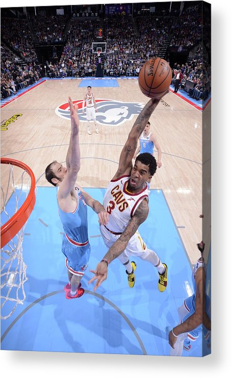 Nba Pro Basketball Acrylic Print featuring the photograph Marquese Chriss by Rocky Widner
