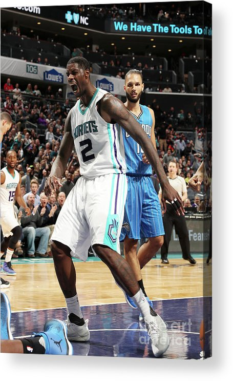 Nba Pro Basketball Acrylic Print featuring the photograph Marvin Williams by Kent Smith