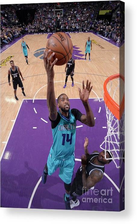 Nba Pro Basketball Acrylic Print featuring the photograph Michael Kidd-gilchrist by Rocky Widner