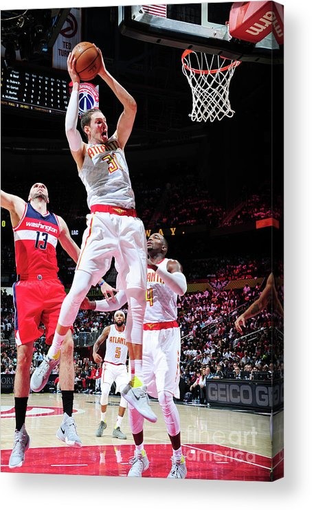 Atlanta Acrylic Print featuring the photograph Mike Muscala by Scott Cunningham