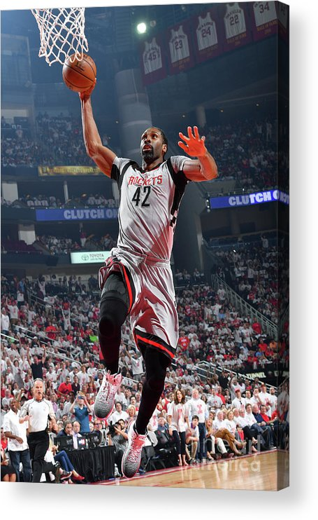Playoffs Acrylic Print featuring the photograph Nene Hilario by Jesse D. Garrabrant