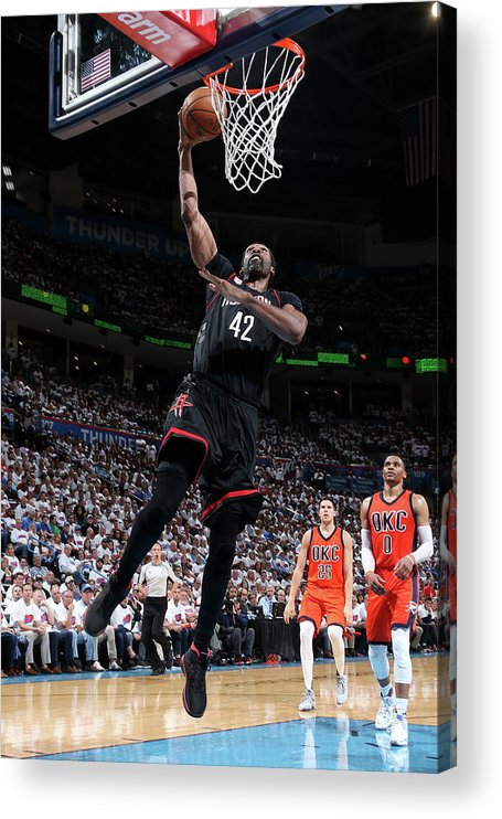 Playoffs Acrylic Print featuring the photograph Nene Hilario by Layne Murdoch