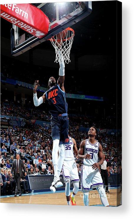 Nba Pro Basketball Acrylic Print featuring the photograph Nerlens Noel by Joe Murphy