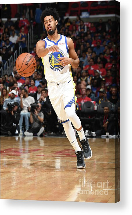 Playoffs Acrylic Print featuring the photograph Quinn Cook by Andrew D. Bernstein