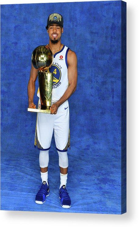 Playoffs Acrylic Print featuring the photograph Quinn Cook by Jesse D. Garrabrant