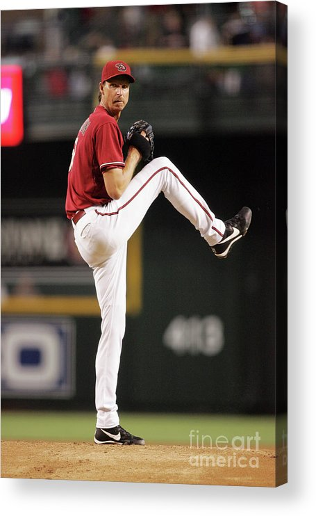 People Acrylic Print featuring the photograph Randy Johnson by Nick Doan