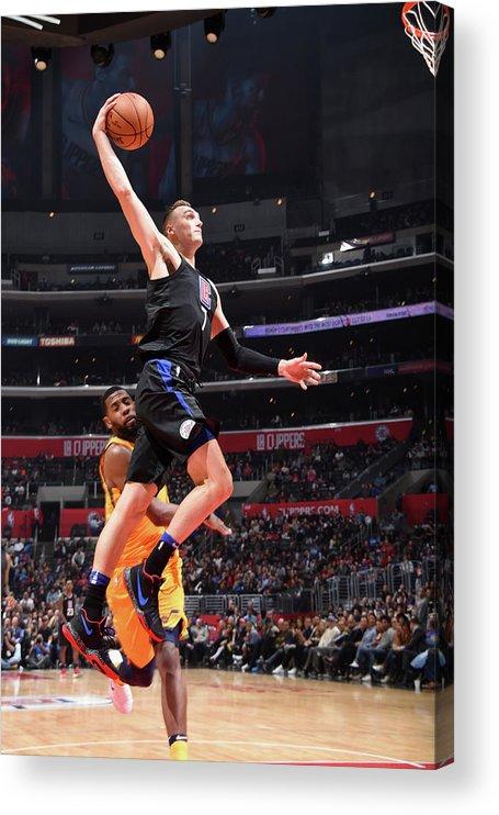 Nba Pro Basketball Acrylic Print featuring the photograph Sam Dekker by Andrew D. Bernstein