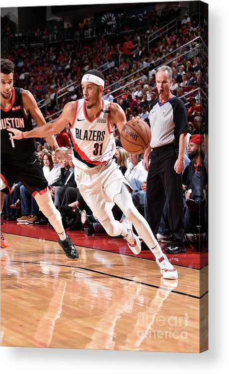 Nba Pro Basketball Acrylic Print featuring the photograph Seth Curry by Bill Baptist