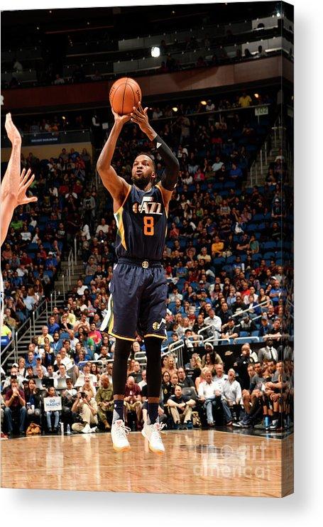 Nba Pro Basketball Acrylic Print featuring the photograph Shelvin Mack by Fernando Medina