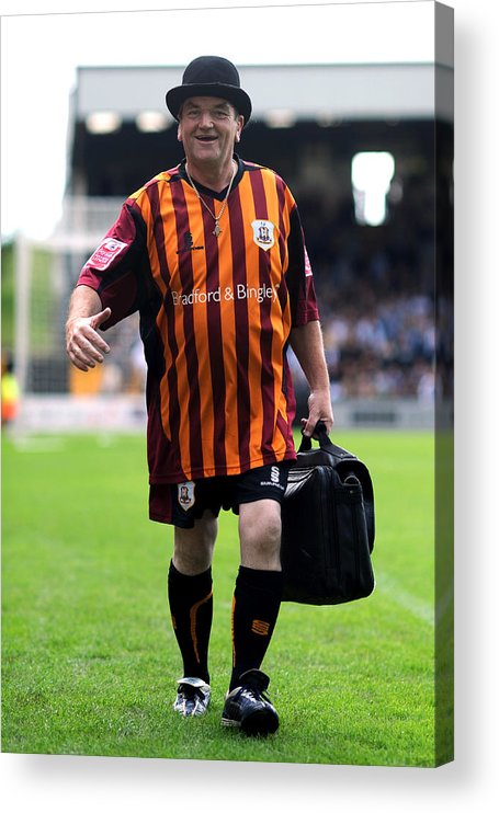 People Acrylic Print featuring the photograph Soccer - Coca-Cola Football League Two - Port Vale v Bradford City - Vale Park by Neal Simpson - EMPICS