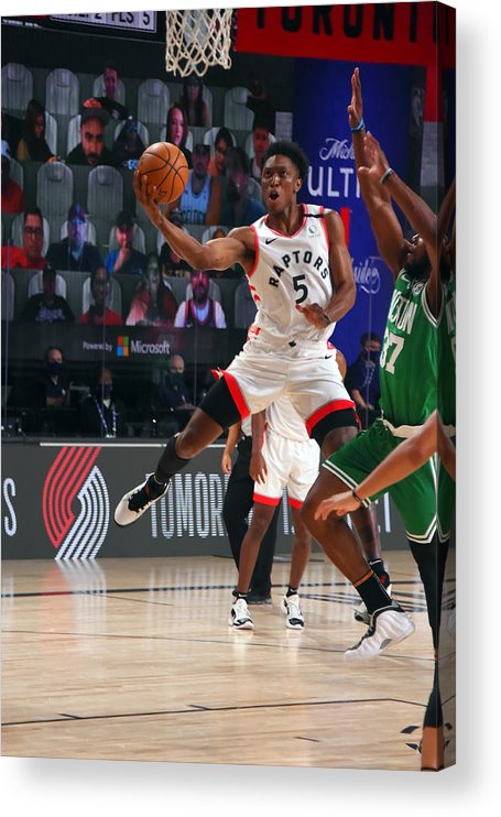 Nba Pro Basketball Acrylic Print featuring the photograph Stanley Johnson by Bill Baptist