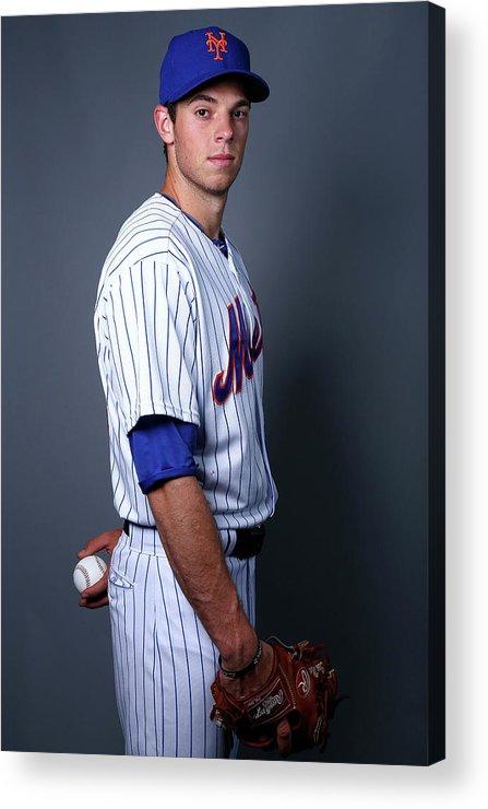 American League Baseball Acrylic Print featuring the photograph Steven Matz by Elsa
