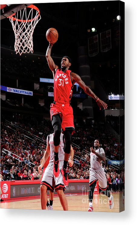 Nba Pro Basketball Acrylic Print featuring the photograph Terrence Ross by Bill Baptist