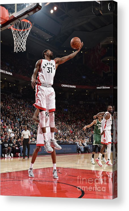 Nba Pro Basketball Acrylic Print featuring the photograph Terrence Ross by Ron Turenne