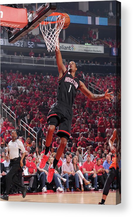 Playoffs Acrylic Print featuring the photograph Trevor Ariza by Bill Baptist