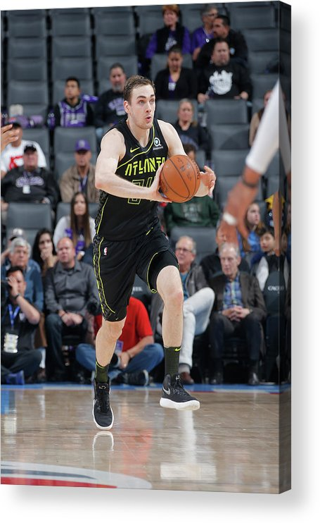 Nba Pro Basketball Acrylic Print featuring the photograph Tyler Cavanaugh by Rocky Widner