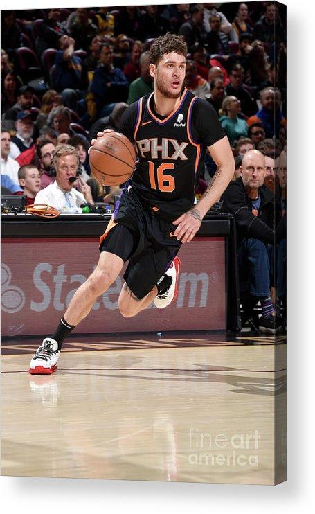 Nba Pro Basketball Acrylic Print featuring the photograph Tyler Johnson by David Liam Kyle