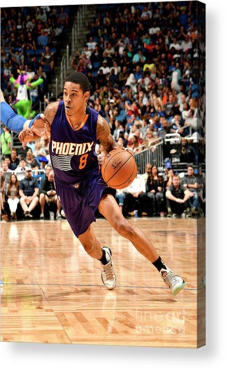 Nba Pro Basketball Acrylic Print featuring the photograph Tyler Ulis by Fernando Medina