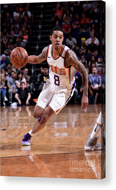 Nba Pro Basketball Acrylic Print featuring the photograph Tyler Ulis by Michael Gonzales