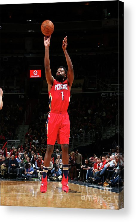 Nba Pro Basketball Acrylic Print featuring the photograph Tyreke Evans by Ned Dishman