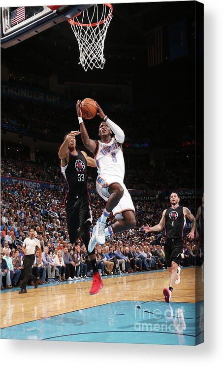 Nba Pro Basketball Acrylic Print featuring the photograph Victor Oladipo by Layne Murdoch