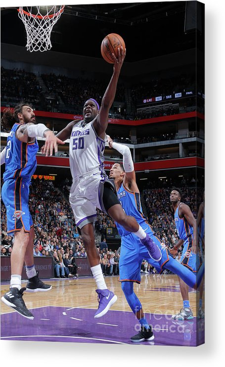 Nba Pro Basketball Acrylic Print featuring the photograph Zach Randolph by Rocky Widner