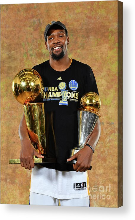 Playoffs Acrylic Print featuring the photograph Kevin Durant by Jesse D. Garrabrant