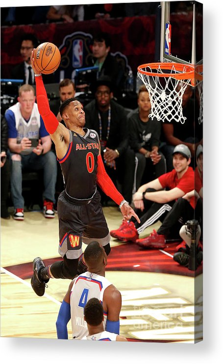 Event Acrylic Print featuring the photograph Russell Westbrook by Layne Murdoch