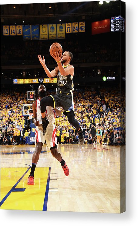 Toddler Acrylic Print featuring the photograph Stephen Curry by Andrew D. Bernstein