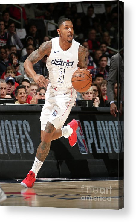 Playoffs Acrylic Print featuring the photograph Bradley Beal by Ned Dishman