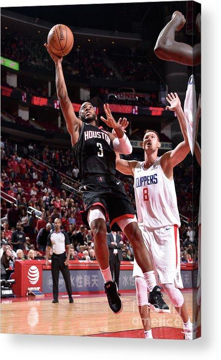 Nba Pro Basketball Acrylic Print featuring the photograph Chris Paul by Bill Baptist