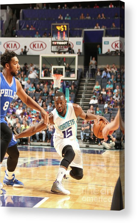 Sport Acrylic Print featuring the photograph Kemba Walker by Kent Smith