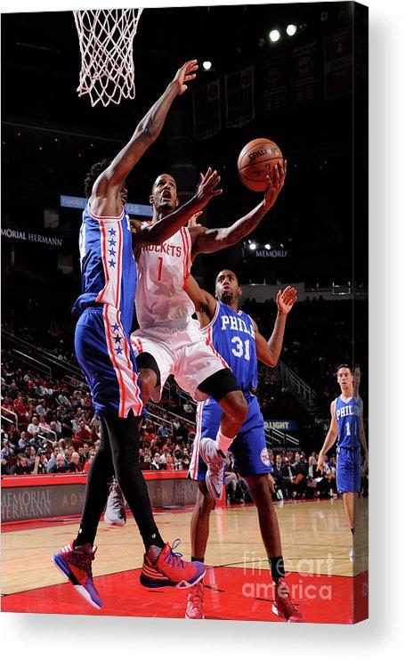 Nba Pro Basketball Acrylic Print featuring the photograph Trevor Ariza by Bill Baptist