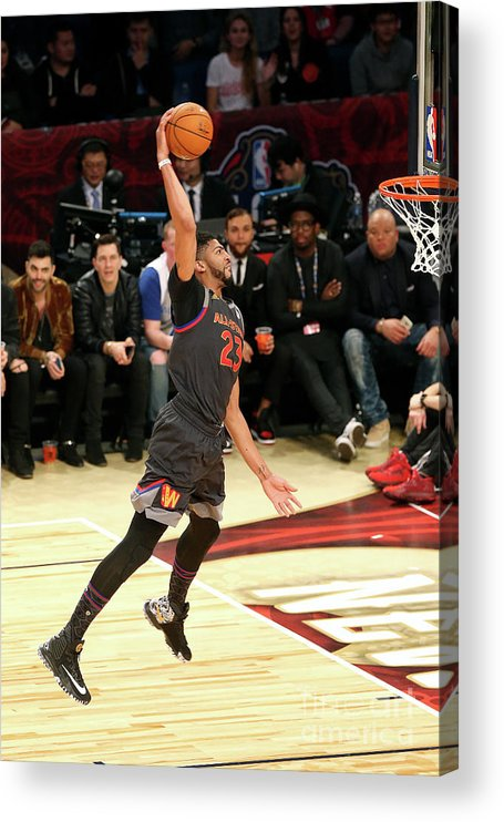 Event Acrylic Print featuring the photograph Anthony Davis by Layne Murdoch
