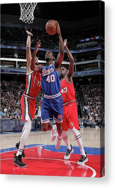 Nba Pro Basketball Acrylic Print featuring the photograph Harrison Barnes by Rocky Widner