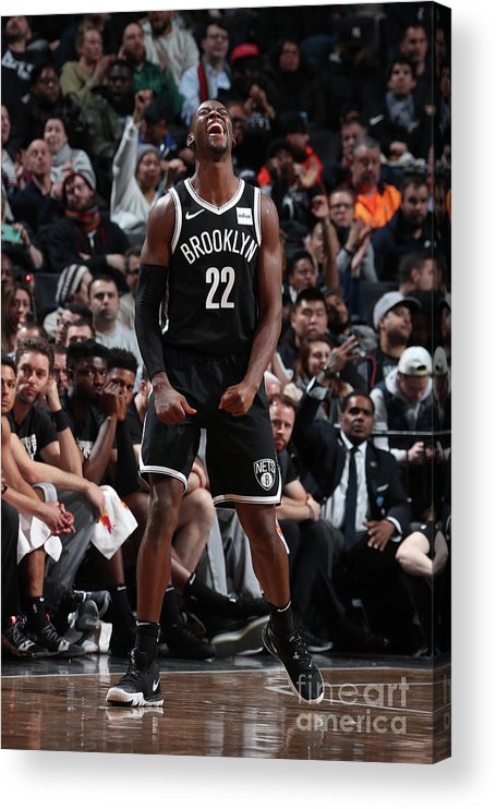Nba Pro Basketball Acrylic Print featuring the photograph Caris Levert by Nathaniel S. Butler
