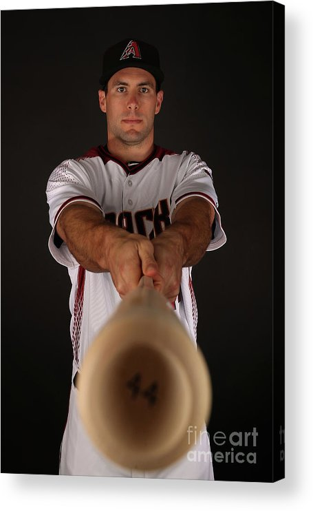 Media Day Acrylic Print featuring the photograph Paul Goldschmidt by Christian Petersen