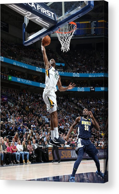 Nba Pro Basketball Acrylic Print featuring the photograph Alec Burks by Melissa Majchrzak