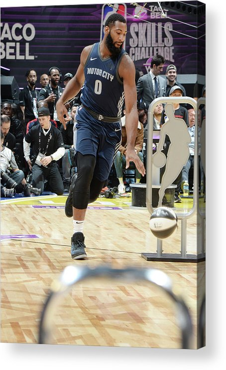 Event Acrylic Print featuring the photograph Andre Drummond by Andrew D. Bernstein