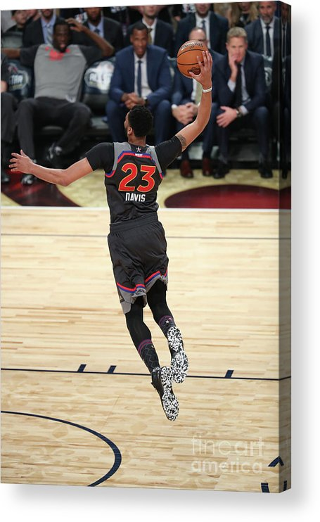 Smoothie King Center Acrylic Print featuring the photograph Anthony Davis by Joe Murphy