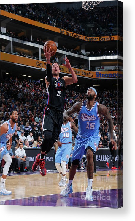 Nba Pro Basketball Acrylic Print featuring the photograph Austin Rivers by Rocky Widner