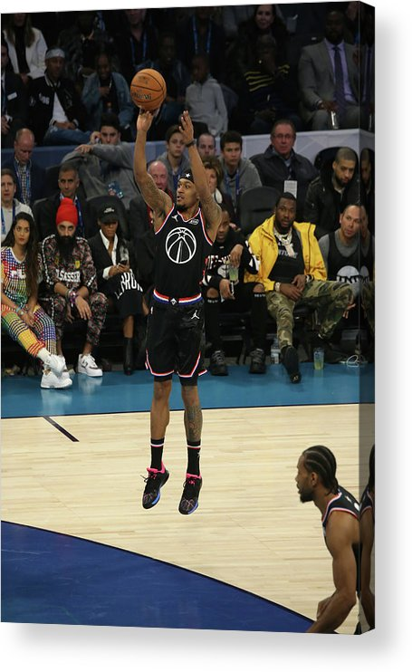 Nba Pro Basketball Acrylic Print featuring the photograph Bradley Beal by Gary Dineen