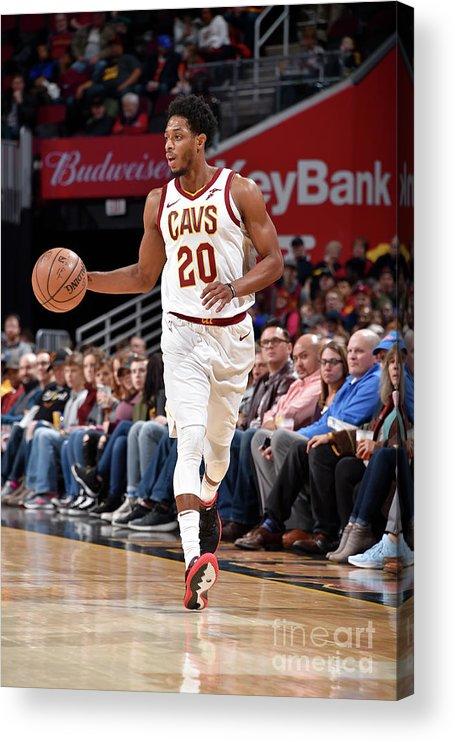 Nba Pro Basketball Acrylic Print featuring the photograph Brandon Knight by David Liam Kyle