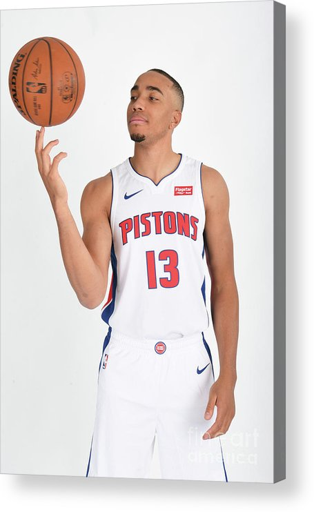 Nba Pro Basketball Acrylic Print featuring the photograph Brice Johnson by Chris Schwegler